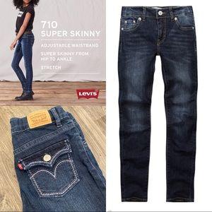 Levi's 710 Super Skinny Jeans Girls Size 10Reg